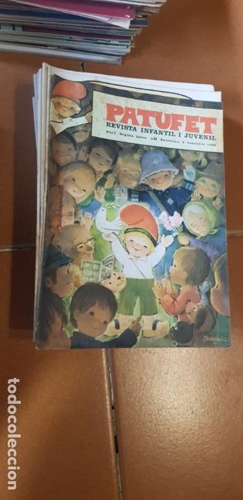 PATUFET 1968-1969 COMPLET 28 REVISTES DEL Nº1 AL Nº 28 (Libros Antiguos, Raros y Curiosos - Literatura Infantil y Juvenil - Cuentos)