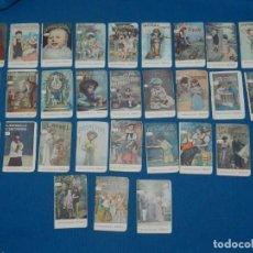 Libros antiguos: (MCAJ) LOTE DE 30 CUENTOS PEQUEÑOS CAFES DEBRAY , TODOS DIFERENTES, 7'5 X 5 CM. Lote 135924726
