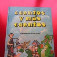 Libros antiguos: LIBRO-CUENTOS Y MÁS CUENTOS-BUEN ESTADO-VER FOTOS. Lote 136075802