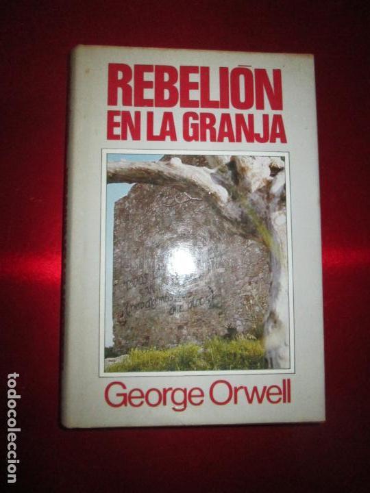 LIBRO-REBELIÓN EN LA GRANJA-GEORGE ORWELL-1984-CÍRCULO DE LECTORES-VER FOTOS (Libros Antiguos, Raros y Curiosos - Literatura Infantil y Juvenil - Cuentos)