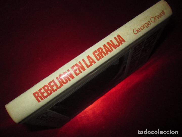 Libros antiguos: LIBRO-REBELIÓN EN LA GRANJA-GEORGE ORWELL-1984-CÍRCULO DE LECTORES-VER FOTOS - Foto 2 - 136151594