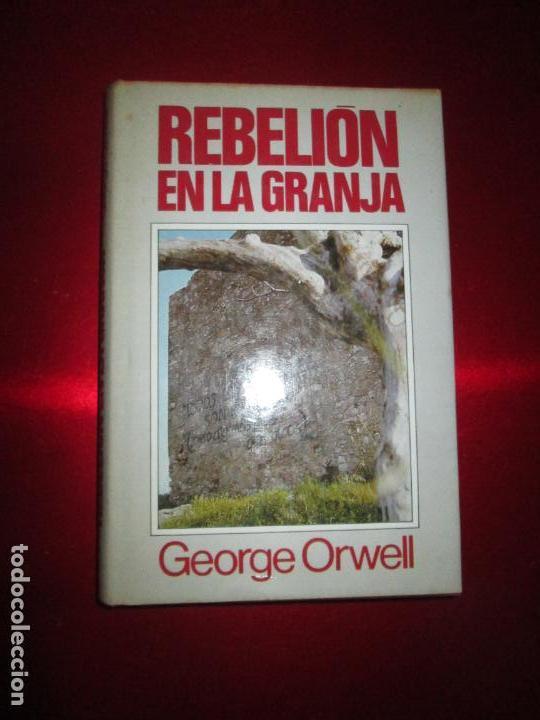 Libros antiguos: LIBRO-REBELIÓN EN LA GRANJA-GEORGE ORWELL-1984-CÍRCULO DE LECTORES-VER FOTOS - Foto 3 - 136151594