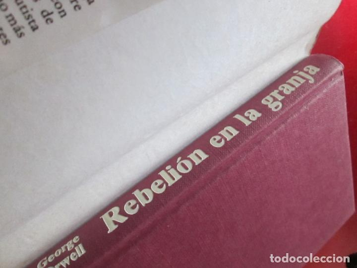Libros antiguos: LIBRO-REBELIÓN EN LA GRANJA-GEORGE ORWELL-1984-CÍRCULO DE LECTORES-VER FOTOS - Foto 7 - 136151594