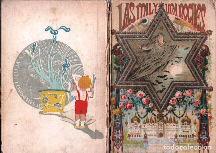 LAS MIL Y UNA NOCHES - CALLEJA PERLA - 520 PÁGINAS (Libros Antiguos, Raros y Curiosos - Literatura Infantil y Juvenil - Cuentos)