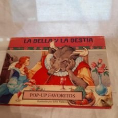 Libros antiguos: LA BELLA Y LA BESTIA, EN POP-UP. Lote 136552162