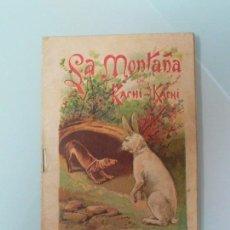 Libros antiguos: LA MONTAÑA DE KACHI KACHI, CUENTOS JAPONESES, SERIE A , Nº. 2 MADRID 1899. Lote 136862546