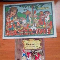 Libros antiguos: 2 ANTIGUOS CUENTOS DE BLANCANIEVES, DE CISNE-GERPLA (1944) Y MOLINO (1964). BLANCA NIEVES. VER FOTOS. Lote 137661662
