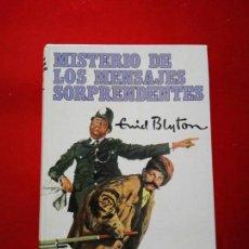 Libros antiguos: LIBRO-MISTERIO DE LOS MENSAJES SORPRENDENTES-ENID BLYTON-1962-ED.MOLINO-BUEN ESTADO-VER FOTOS. Lote 137777718