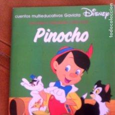 Libros antiguos: CUENTO DE GAVIOTA PINOCHO DE DISNEY 1994. Lote 138858266