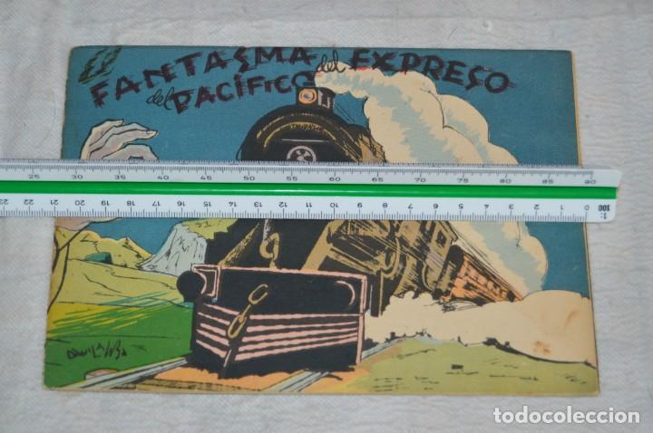 Libros antiguos: EL FANTASMA DEL EXPRESO DEL PACIFICO - CUENTO Nº 8 - MUY RARO - ENVÍO 24H - Foto 2 - 139289106