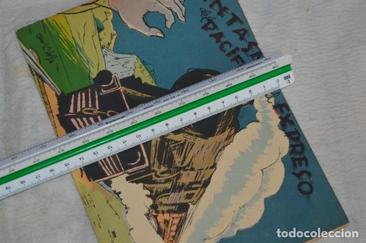 Libros antiguos: EL FANTASMA DEL EXPRESO DEL PACIFICO - CUENTO Nº 8 - MUY RARO - ENVÍO 24H - Foto 3 - 139289106