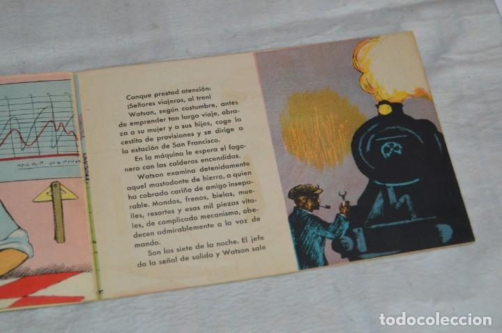 Libros antiguos: EL FANTASMA DEL EXPRESO DEL PACIFICO - CUENTO Nº 8 - MUY RARO - ENVÍO 24H - Foto 6 - 139289106