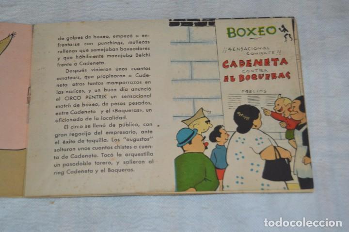 Libros antiguos: EL MATCH DE CADENETA - CUENTO Nº 5 - MUY RARO - ENVÍO 24H - Foto 5 - 139289322