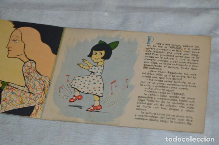 Libros antiguos: TARAVILLA EL MENTIROSO - CUENTO Nº 7 - MUY RARO - VINTAGE - ENVÍO 24H - Foto 5 - 139289586