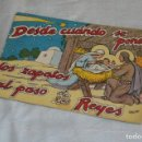 Libros antiguos: DESDE CUANDO SE PONEN LOS ZAPATOS AL PASO DE LOS REYES MAGOS - CUENTO Nº 40 - MUY RARO - ENVÍO 24H. Lote 139289886