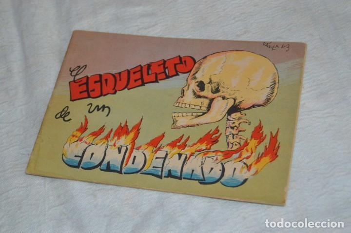 EL ESQUELETO DE UN CONDENADO - CUENTO Nº 4 - MUY RARO - ENVÍO 24H (Libros Antiguos, Raros y Curiosos - Literatura Infantil y Juvenil - Cuentos)