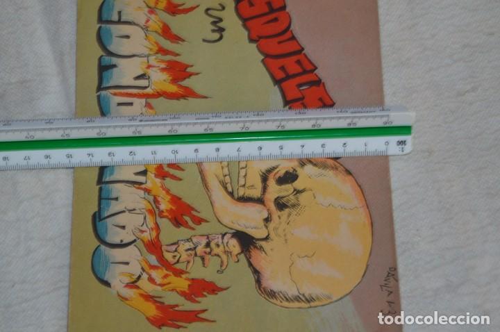 Libros antiguos: EL ESQUELETO DE UN CONDENADO - CUENTO Nº 4 - MUY RARO - ENVÍO 24H - Foto 3 - 139289974