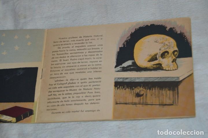 Libros antiguos: EL ESQUELETO DE UN CONDENADO - CUENTO Nº 4 - MUY RARO - ENVÍO 24H - Foto 5 - 139289974