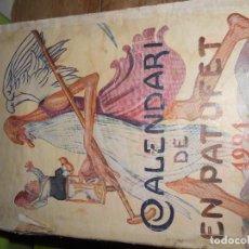 Libros antiguos: CALENDARI DE EN PATUFET 1921. Lote 139612338