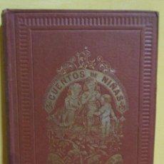 Libros antiguos: CUENTOS DE NIÑAS -MARIA DEL PILAR SINUÉS- LIBRERIA DE ANTONIO J. BASTINOS AÑO 1892 EXCELENTE. Lote 139682502