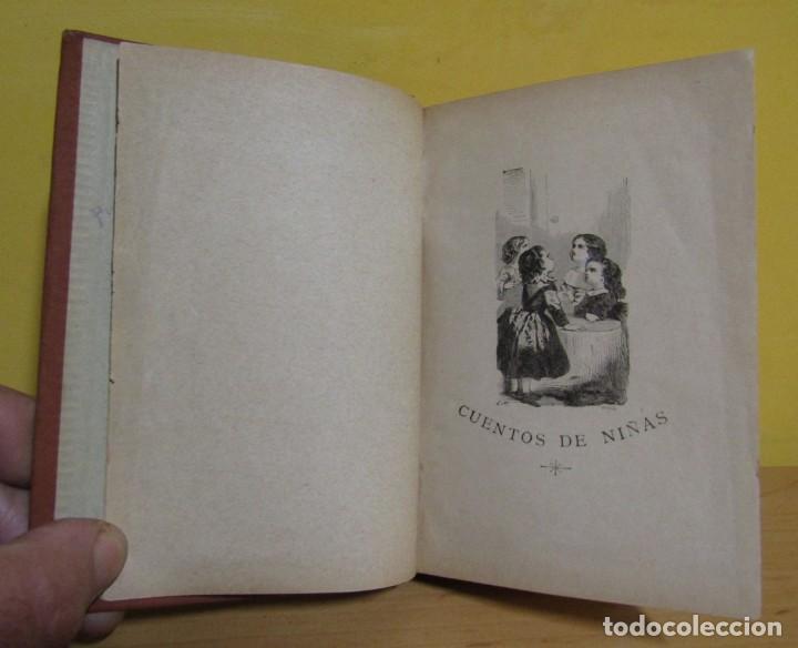 Libros antiguos: CUENTOS DE NIÑAS -MARIA DEL PILAR SINUÉS- LIBRERIA DE ANTONIO J. BASTINOS AÑO 1892 EXCELENTE - Foto 2 - 139682502