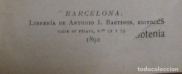 Libros antiguos: CUENTOS DE NIÑAS -MARIA DEL PILAR SINUÉS- LIBRERIA DE ANTONIO J. BASTINOS AÑO 1892 EXCELENTE - Foto 4 - 139682502