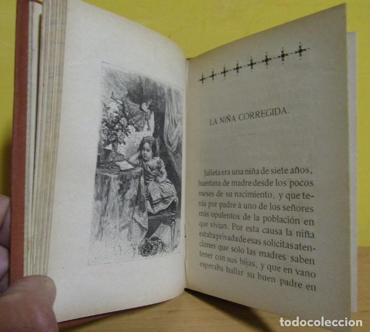 Libros antiguos: CUENTOS DE NIÑAS -MARIA DEL PILAR SINUÉS- LIBRERIA DE ANTONIO J. BASTINOS AÑO 1892 EXCELENTE - Foto 5 - 139682502