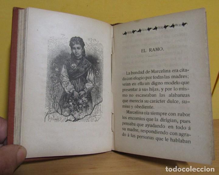 Libros antiguos: CUENTOS DE NIÑAS -MARIA DEL PILAR SINUÉS- LIBRERIA DE ANTONIO J. BASTINOS AÑO 1892 EXCELENTE - Foto 6 - 139682502