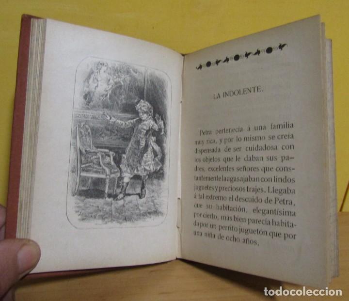 Libros antiguos: CUENTOS DE NIÑAS -MARIA DEL PILAR SINUÉS- LIBRERIA DE ANTONIO J. BASTINOS AÑO 1892 EXCELENTE - Foto 7 - 139682502