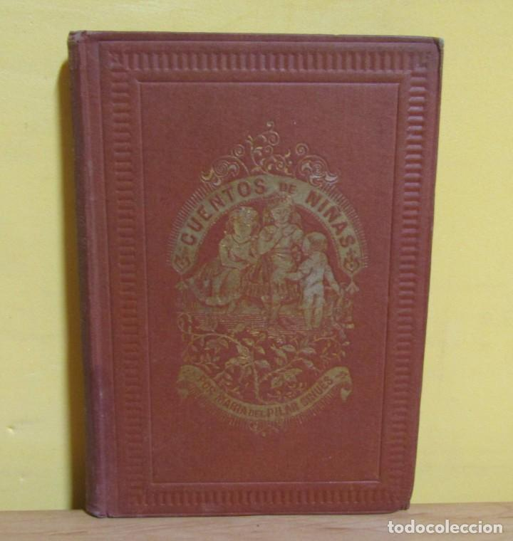 Libros antiguos: CUENTOS DE NIÑAS -MARIA DEL PILAR SINUÉS- LIBRERIA DE ANTONIO J. BASTINOS AÑO 1892 EXCELENTE - Foto 12 - 139682502