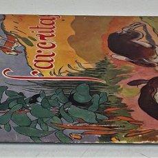 Libros antiguos: FÁBULAS FAVORITAS. SERIE BEBÉ. VV. AA. EDITORIAL JUVENTUD. BARCELONA. 1931.. Lote 140734530