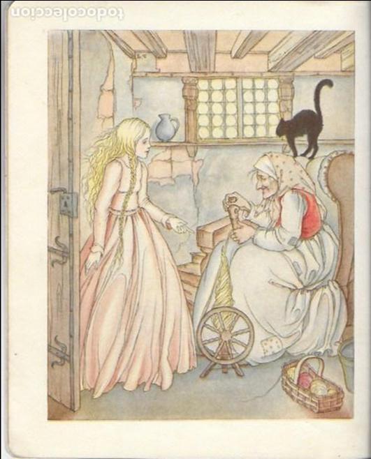 Libros antiguos: Dornrösche. ( Bella durmiente ). Mainz : Jof. Soholz, 193? 22x18 cm. 16 p. - Foto 3 - 141035338