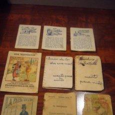 Libros antiguos: LOTE DE MINICUENTOS. Lote 141151158