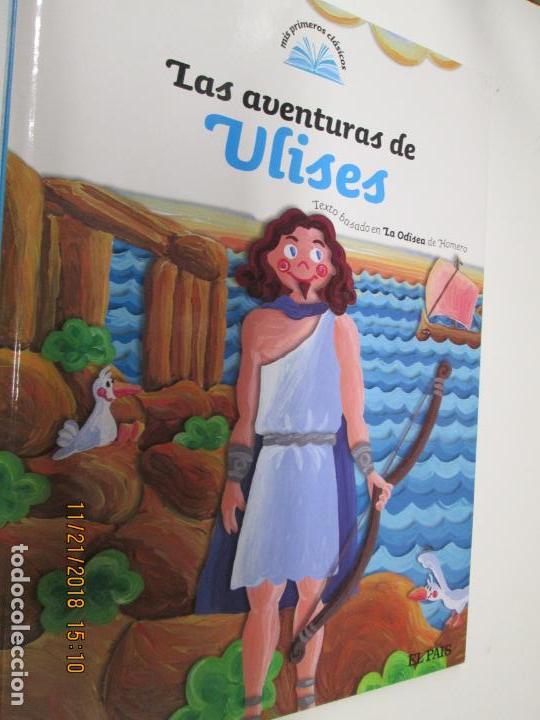 LA AVENTURA DE ULISES Nº 8 MIS PRIMEROS CLASICOS EL PAIS -RENFE -2007 (Libros Antiguos, Raros y Curiosos - Literatura Infantil y Juvenil - Cuentos)