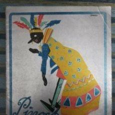 Libros antiguos: CUENTOS DE CALLEJA EN COLORES - PINOCHO CONTRA CHAPETE Nº 1: PINOCHO EMPERADOR - BARTOLOZZI (1932). Lote 141818786