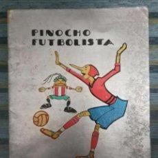 Libros antiguos: CUENTOS DE CALLEJA EN COLORES - PINOCHO CONTRA CHAPETE Nº 28: PINOCHO FUTBOLISTA - BARTOLOZZI (1932). Lote 141821350