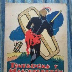 Libros antiguos: CUENTOS DE CALLEJA EN COLORES - CUARTA SERIE BARBILLON N° 9: TINTACHINA Y MASQUELBETUN (1930). Lote 141916458