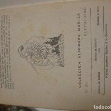 Libros antiguos: BERTOLDINO COLECCIÓN ALFOMBRA MÁGICA - PORTAL DEL COL·LECCIONISTA *****. Lote 141929274