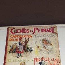 Libros antiguos: CUENTOS DE PERRAULT BIBLIOTECA PARA NIÑOS E. SOPENA AÑO 1937. Lote 142257306