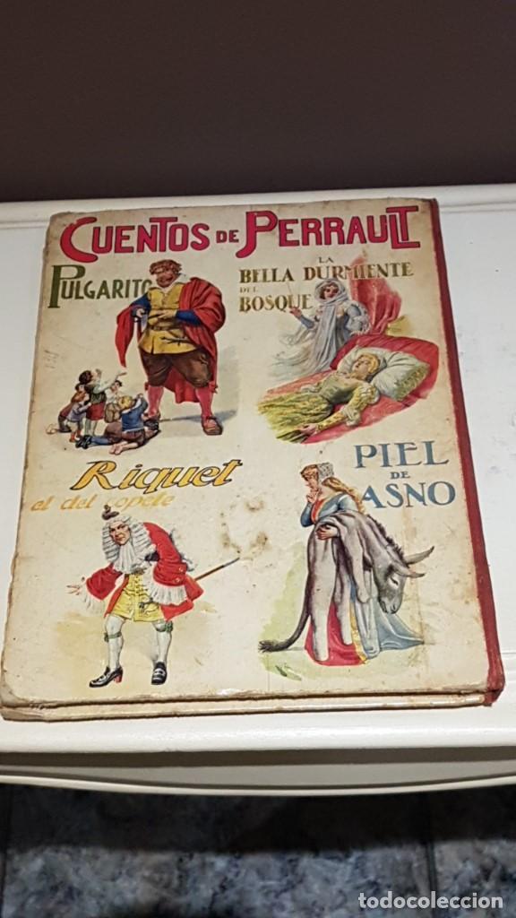 Libros antiguos: CUENTOS DE PERRAULT BIBLIOTECA PARA NIÑOS E. SOPENA AÑO 1937 - Foto 2 - 142257306