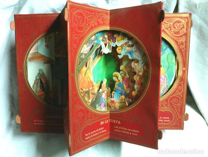 Libros antiguos: Cuento diorama Navidad Colección Radial año 41, Biblioteca Dioramica Edit Roma. POP UP - Foto 2 - 142695410