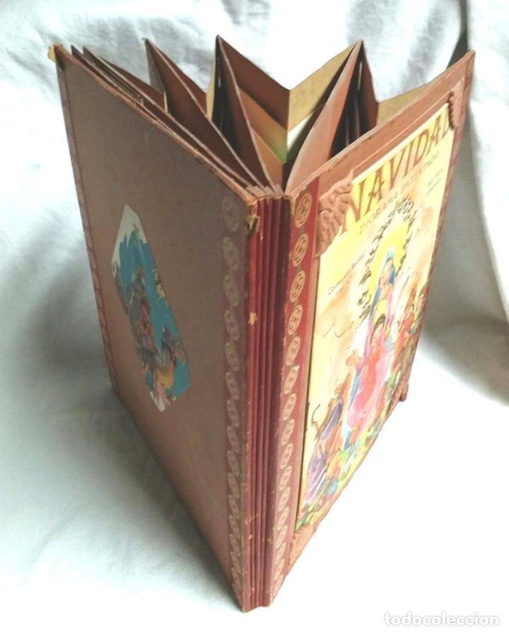 Libros antiguos: Cuento diorama Navidad Colección Radial año 41, Biblioteca Dioramica Edit Roma. POP UP - Foto 3 - 142695410