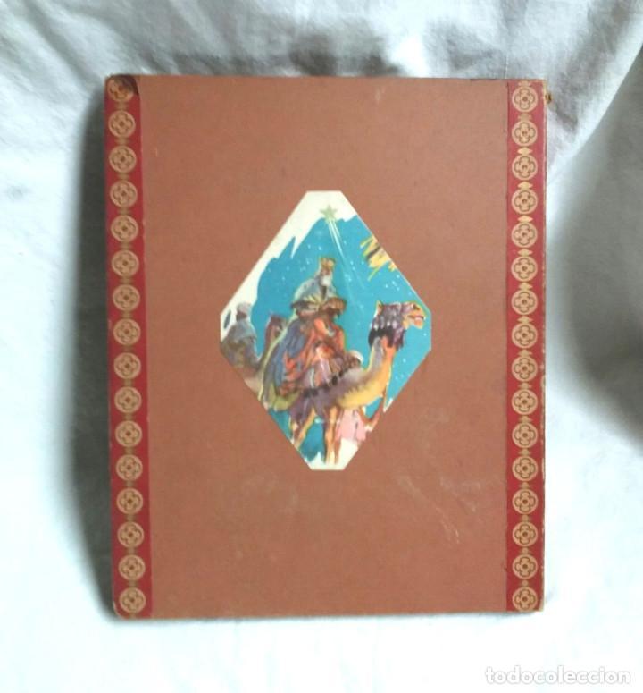 Libros antiguos: Cuento diorama Navidad Colección Radial año 41, Biblioteca Dioramica Edit Roma. POP UP - Foto 4 - 142695410