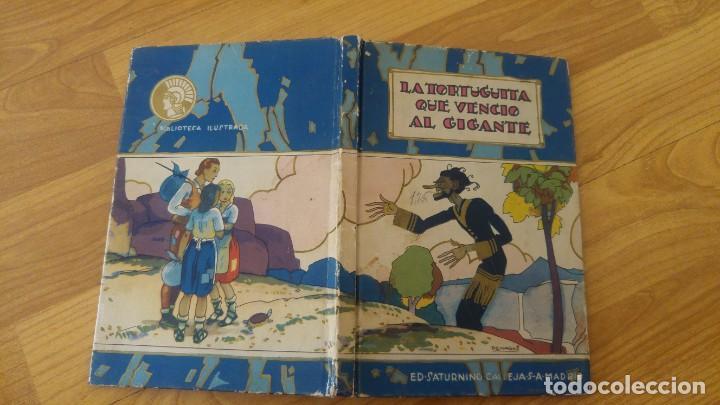 LA TORTUGUITA QUE VENCIO AL GIGANTE.-SATURNINO CALLEJA, TAPA DURA-AÑO 1936 (Libros Antiguos, Raros y Curiosos - Literatura Infantil y Juvenil - Cuentos)