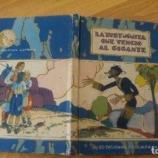 Libros antiguos: LA TORTUGUITA QUE VENCIO AL GIGANTE.-SATURNINO CALLEJA, TAPA DURA-AÑO 1936. Lote 142702234