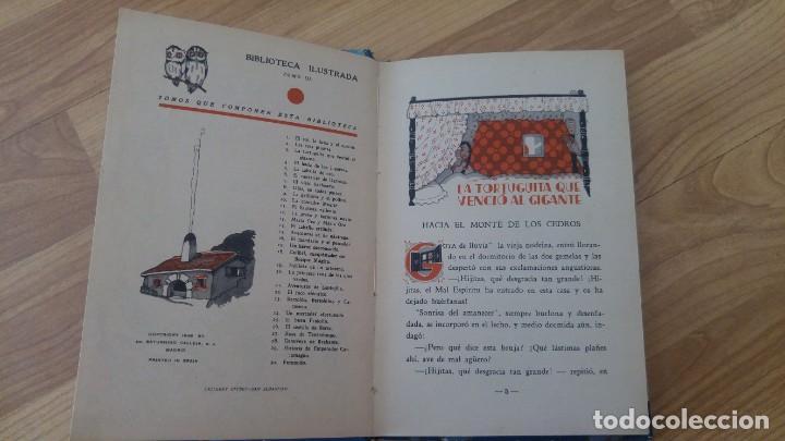Libros antiguos: La tortuguita que vencio al gigante.-saturnino Calleja, tapa dura-año 1936 - Foto 2 - 142702234