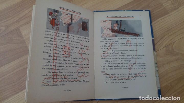 Libros antiguos: La tortuguita que vencio al gigante.-saturnino Calleja, tapa dura-año 1936 - Foto 5 - 142702234