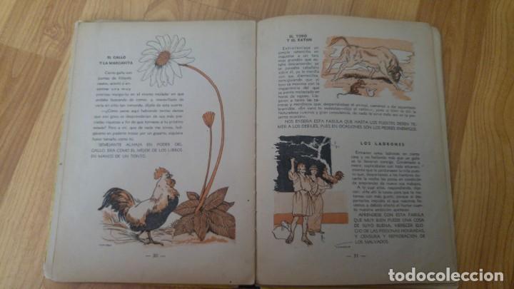 Libros antiguos: fabulas escogidas de esopo - ediciones maucci - 24, 5 x 19, 5 cms. - 46 paginas -no pone año-. - Foto 3 - 142707062