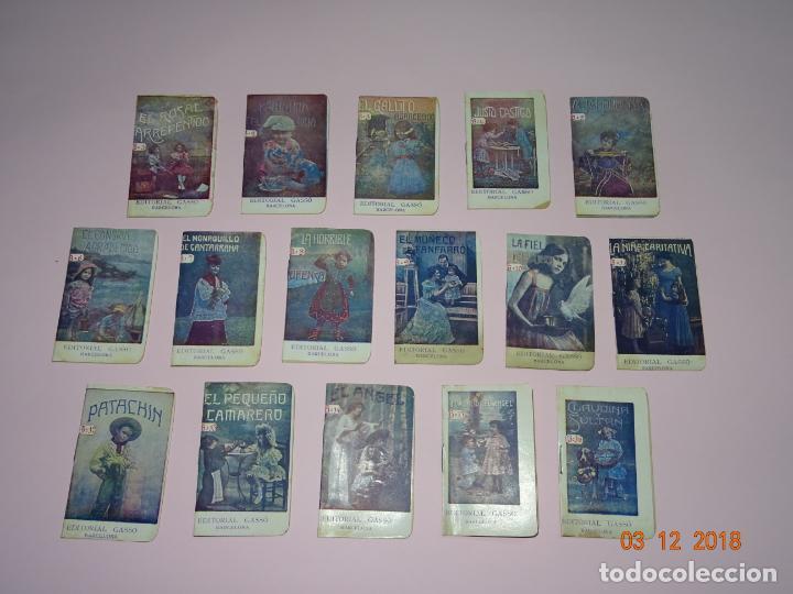 Libros antiguos: Antigua Colección CUENTOS INFANTILES Serie B Completa de Editorial GASSO - Año 1920s. - Foto 3 - 142733542