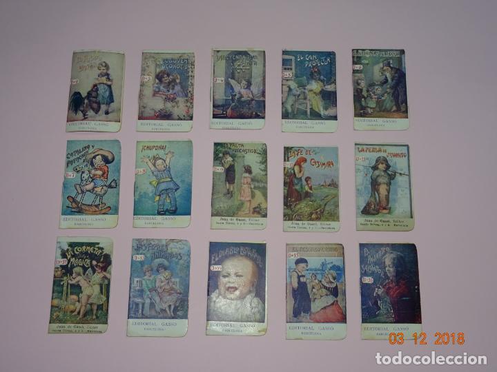 ANTIGUA COLECCIÓN CUENTOS INFANTILES SERIE D DE EDITORIAL GASSO - AÑO 1920S. (Libros Antiguos, Raros y Curiosos - Literatura Infantil y Juvenil - Cuentos)